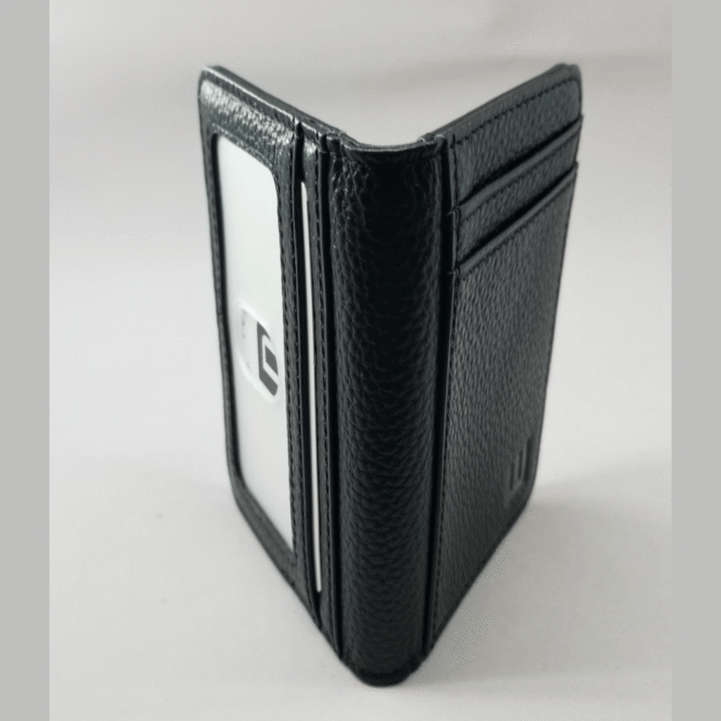 Buying WALLETERAS Double Espresso Card Holder with RFID and ID Window
