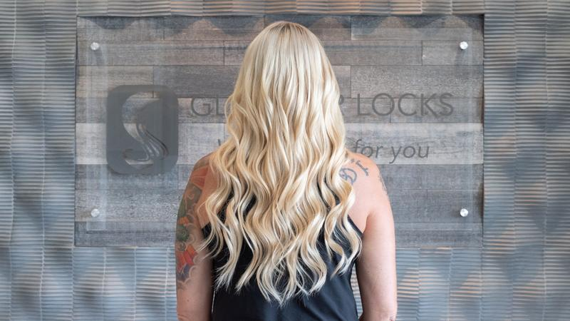 Beaded Weft Hair Extension At Glamour Locks